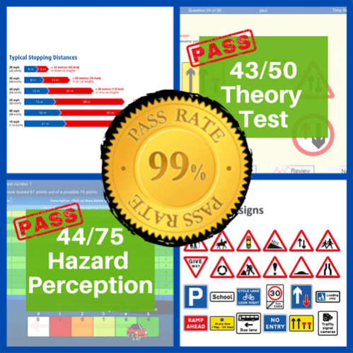 driving theory test classroom training