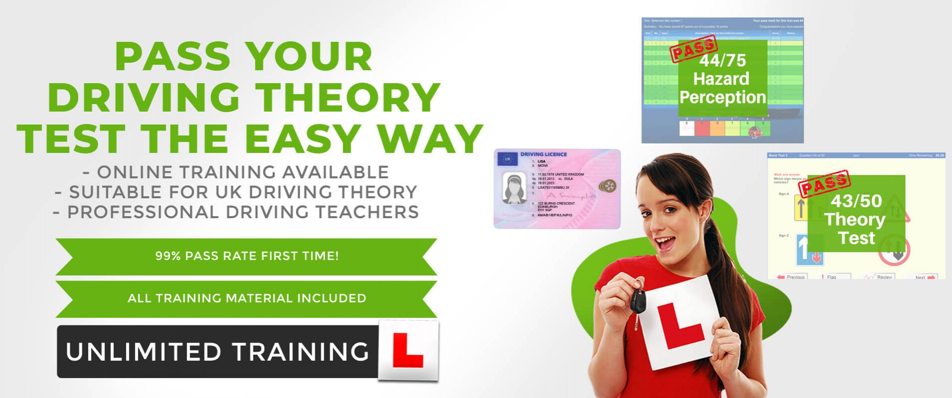 fast track drive pass driving theory test online