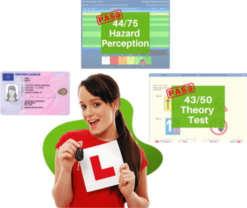 online teaching for hazard perception and theory test
