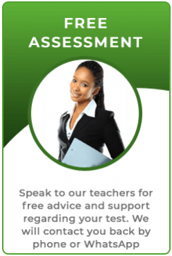 Free assessment with a driving theory test teacher